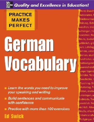 Practice Makes Perfect - German Vocabulary